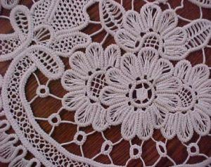 Roemeens kant detail - Handwerkwereld