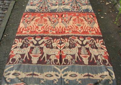 Hinggi of ceremoniele sjaal - Sumba ikat - Handwerkwereld