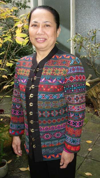 Thais geborduurd jasje - Handwerkwereld