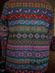 Thais geborduurd jasje rugpand - Handwerkwereld