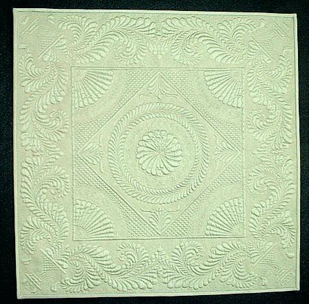Hedendaagse Welsh quilt - Handwerkwereld