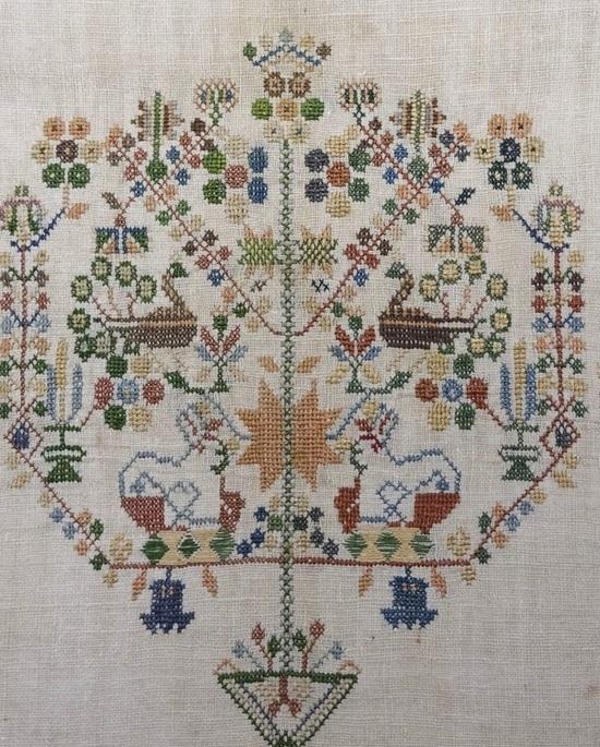 De levensboom staat voor Moeder Aarde - Handwerkwereld