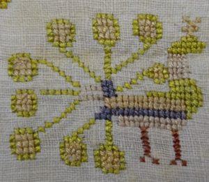 De pauw staat symbool voor onsterfelijkheid en waakzaamheid - Bevelanden - Handwerkwereld