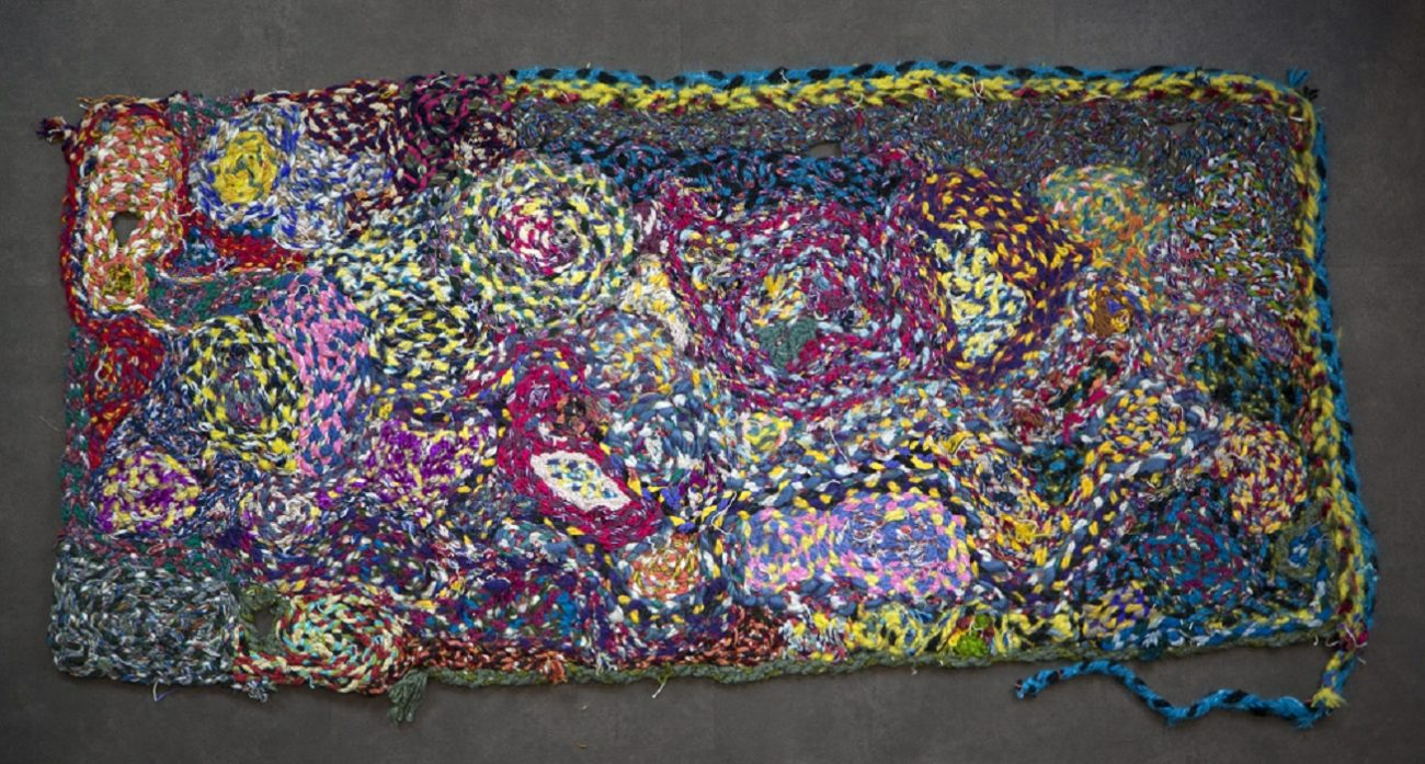 Kleed 289, 186 x 75 cm - Fred Velders wollen kleden - Handwerkwereld
