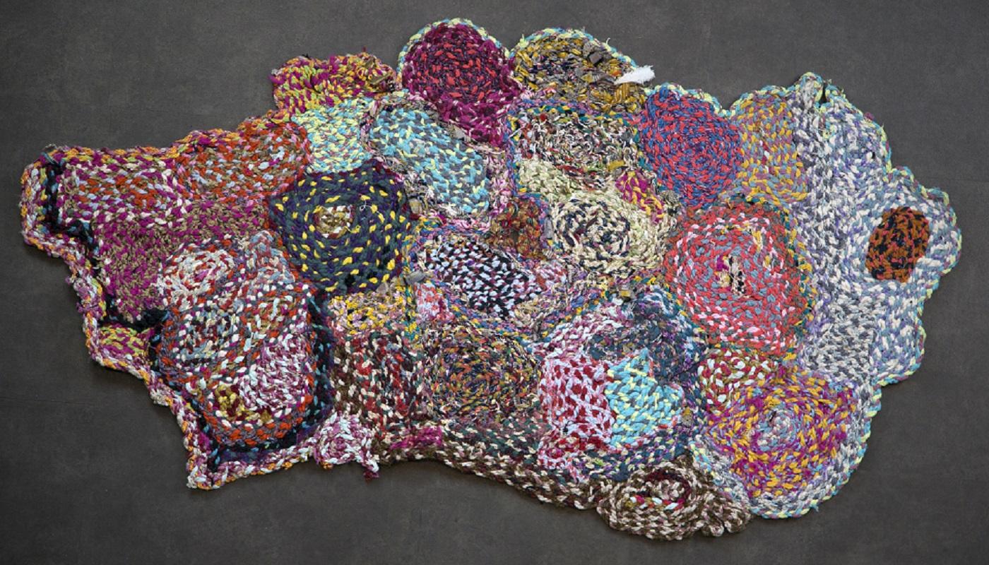 Kleed 291, 155 x 75 cm - Fred Velders wollen kleden - Handwerkwereld