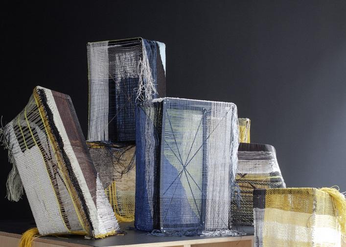 Hella Jongerius, Woven Bricks (2019, detail) - Kosmos Weven Gropius Bau Berlijn - Handwerkwereld