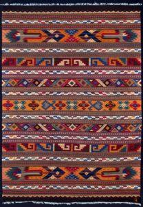Kleed, wol geverfd met cochenille, boommos, indigo, péricon en zwarte sapota - natuurlijke kleurstoffen voor wol - Handwerkwereld