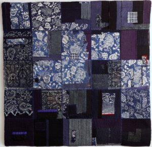 Quilt 'Versleten en Versteld' van Maria Hofmans - Leids Wevershuis Rondom het Textielfestival - Handwerkwereld