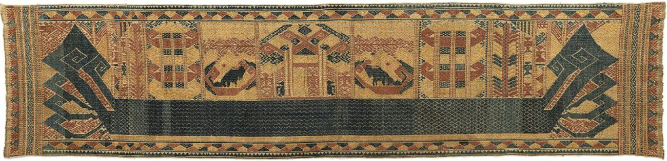 Scheepsdoek palepai, baai van Semangka, 35 cm hoog - Handwerkwereld