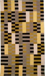 Wandkleed uit de Bauhaus-periode van Anni Albers (Bauhaus-Archiv Berlin) - Handwerkwereld